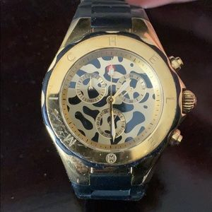 Michele - Tahitian Jelly Bean, Gold-tone Watch
